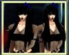 [M] Blue Bow Black