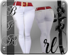 [BIR]Pants *Red & white