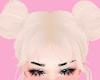 ♡ buns blonde