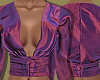 Purple Thai Silk Blouse