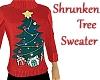 Shrunken Tree Sweater