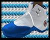 $AJ23 White N Blue$