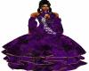 Purple  Halter FT Gown