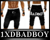 badboy long short jeans