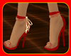 !  RED & GOLD SHOES