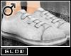 #Velcro Flats-White[M]#
