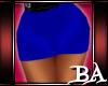 bm Blue Mini Skirt
