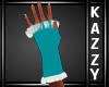 }KR{ Teal Gloves