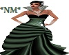 *NM* Royal  Green  Dress