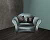 (S)Blue Simplicity Chair