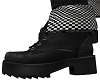 amm- checker ankle boots