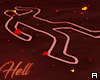 ϟ. Hell Chalk Outline