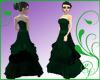 GF-Dark Emerald Gown
