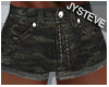 ♋.Bulge Camo Shorts