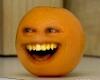 Annoying Orange Sticker
