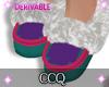 [CCQ]F-Derv Slippers