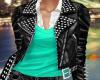Anita Leather Mint