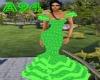 [A94] Gitana dress/green