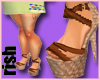 Basketweave Shoes LG