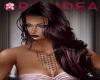 Florence Plum  Long Hair