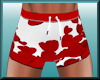 M Valentine Boxer RED
