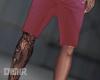 Pink Shorts + Tats