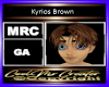 Kyrios Brown