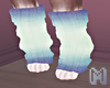 CHIOU Mint Leg Warmers