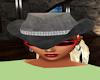hat grey diamond band