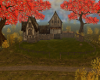 Fall Lakeside House