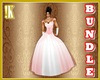 Red Ballroom Gown Bundle
