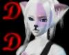 DD Pink Line Wolf Ears