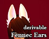 Derivable Fennec Ears