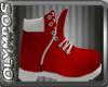 *O* XMAS RED BOOT