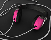 HeadPhones pink.