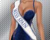 Miss Spain sash