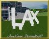 LAX Airport logo 3D