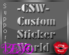 CSW Custom Sticker