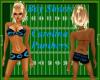 ~LB~Boy Shorts-Panthers