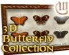 3D Butterfly Collection
