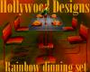 Rainbow Dinning Set