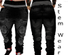 Black Stem Jeans
