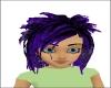 Dark Purple Toxic Hair