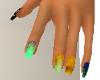 Multi-Color Nails 4