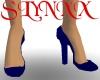 SL Royal Blue Heels