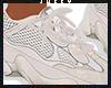 Beige Running Shoes