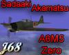 J68 A6M5 Zero Akamatsu