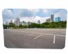 parking lot & garagedoor