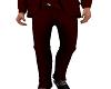 ~QAD~ Red Suit Pants