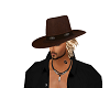 Brown Cowboy hat Blonde